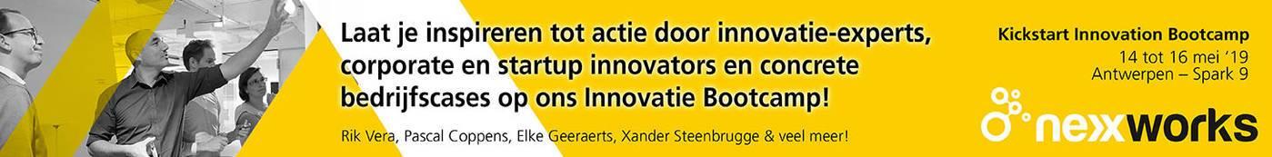 "CEO nexxworks: ""Bedrijven hopen nog altijd op die ene silver bullet om te innoveren, maar sorry, die bestáát niet"""