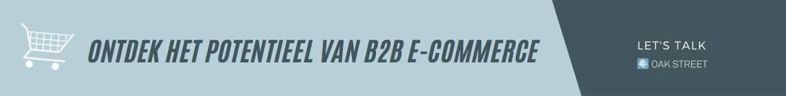 """""""Starten in een B2B e-commerce kan niet zonder een heldere strategie"""""""