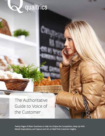 E-book: de ultieme gids voor klantgerichte bedrijven die inzetten op de 'voice of the customer'
