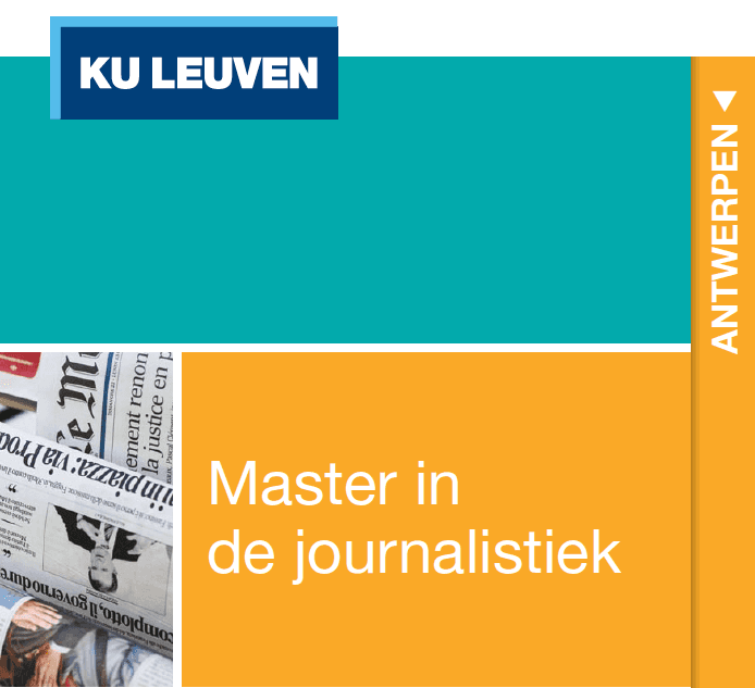 Master Journalistiek KU Leuven (Antwerpen)