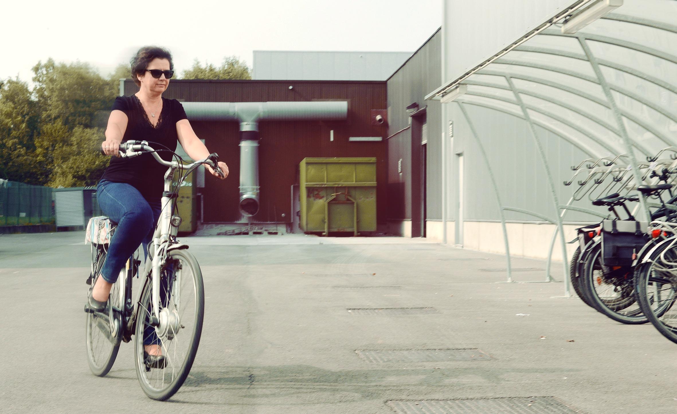 Deelnemer fietsenproject artoos group